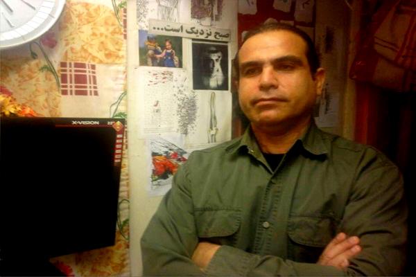 پیام تبریک خالد حردانی زندانی سیاسی