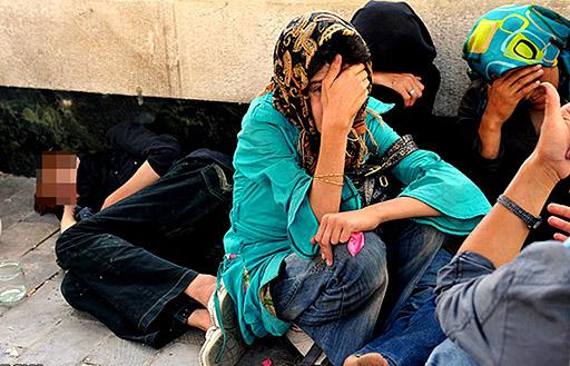 دستگیری ۳۰۰۰ نفربه جرم کارتن خواب و معتاد در تهران