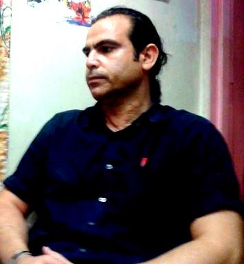 ملاقات خالد حردانی  با فرزندش پس از دو سال