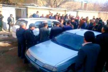 تجمع اعتراضی کارگران خطی راهآهن در زنجان برای دومینبار