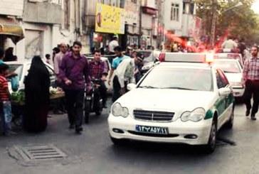 متهم گردانی در انظار عمومی در پاکدشت