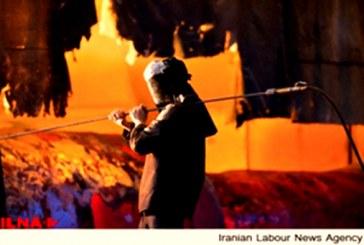 تجمع اعتراضی ۳۰۰ کارگر قراردادی کارخانه فولاد آذربایجان
