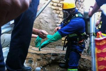 مرگ دو مقنی در چاه ۱۲۰ متری زاوه