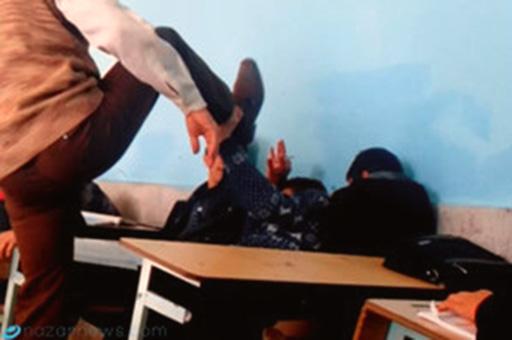 کتک زدن دانشآموز لرستانی سر کلاس