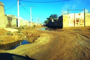 وضعیت نامناسب خیابانهای شهر ویس