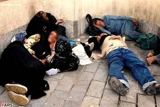 جمع آوری ۶۰۰ زن کارتن خواب از خیابانهای تهران