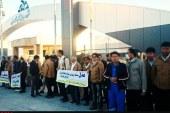 کارگران قرارداد مستقیم پالایشگاه پارسیان امروز تجمع کردند