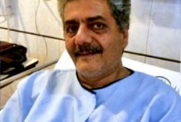 انتقال محمدرضا عالی پیام بدون رسیدگی پزشکی از بیمارستان به زندان