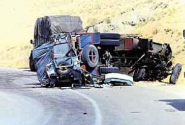 مرگ ۱۰۰ هزار نفر در جادهها در ۵ سال گذشته