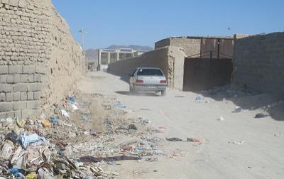 حاشیه شهر زاهدان