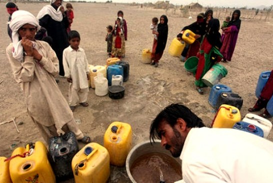 هزارو سیصد روستای فاقد آب در سیستان و بلوچستان