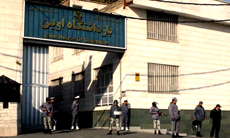 نگهداری غیرقانونی حسین کاظم درویش در زندان اوین
