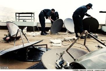 ضبط «صدها هزار دیش» و بازداشت «۱۹۳ نصاب ماهواره» در هفت ماه نخست سال ۹۵