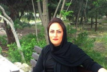 «سحر بهشتی» برای ساعاتی توسط ماموران امنیتی بازداشت شد