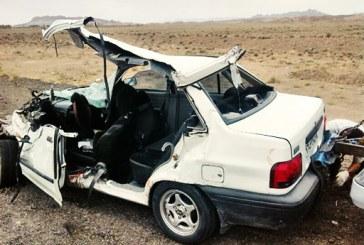 وقوع ۱۱۸۸ تصادف و مرگ ۱۰۳ نفر در جادههای سیستانوبلوچستان