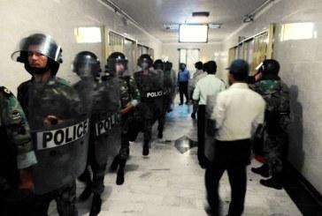 یورش گارد ویژه زندان اوین به زندانیان سیاسی و امنیتی