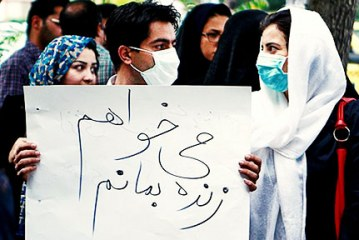 آلودگی هوا؛ سومین عامل مرگومیر در ایران
