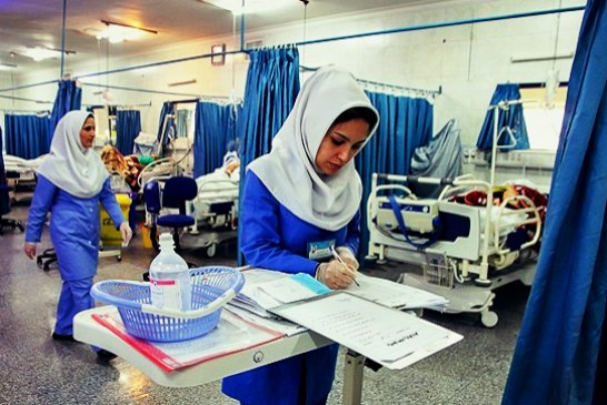 ایمنی شغلی پرستاران در بیمارستان ها رعایت نمی شود