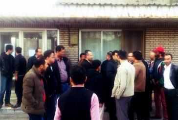 اعتراض کارگران کاشی خزر یک به پرداخت نشدن معوقات مزدی