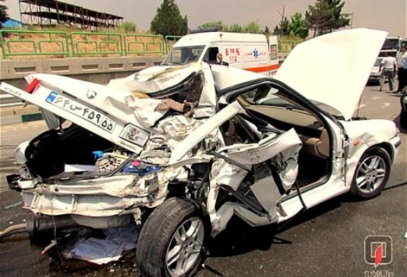 در هشت ماهه امسال رخ داد: مرگ۱۱ هزار و ۸۸۶ نفر در تصادفات