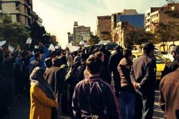 مربیان پیش دبستانی بار دیگر تجمع اعتراضی کردند