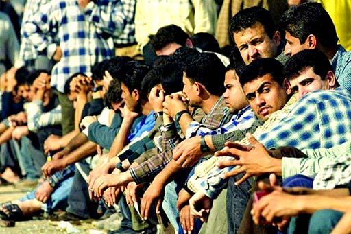 جمعیت بیکاران ایران روزانه ۵۲۰۰ نفر افزایش مییابد