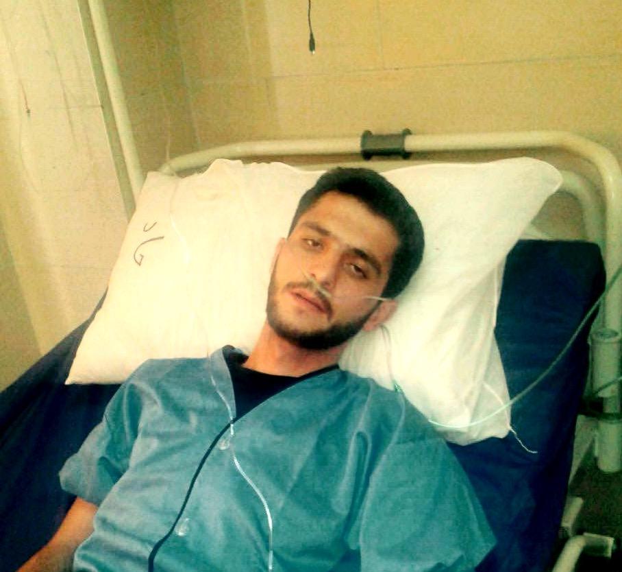 عدم رسیدگی پزشکی به افشین سهرابزاده، زندانی سیاسی