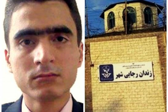 فشار بر یک زندانی سیاسی