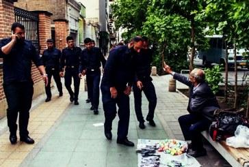 دستفروشان شهر سنندج از سوی ارگانهای امنیتی تهدید به بازداشت شدند
