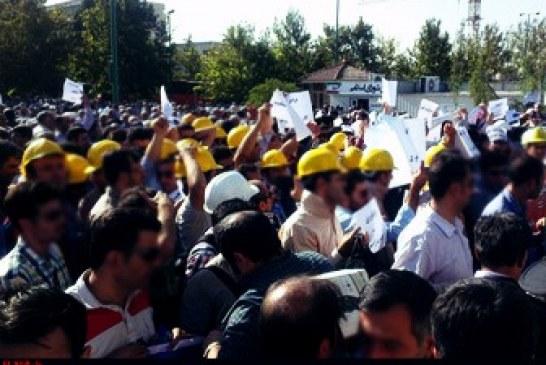 تبعید فعالان، نتیجه اعتراض اپراتورهای برق