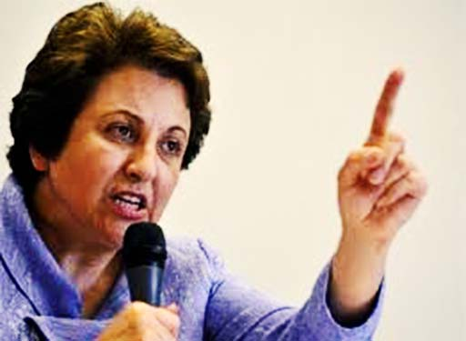شیرین عبادی: دولت ایران، مسئول جان آقای کبودوند است