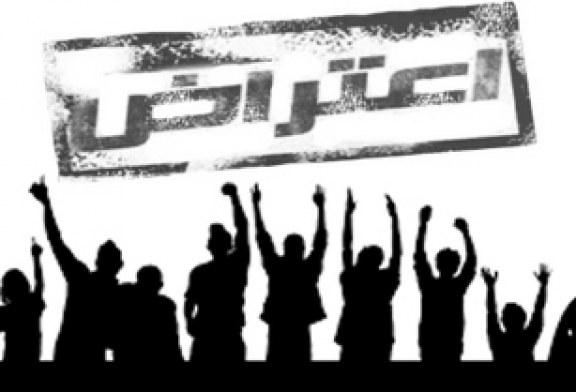 تجمع خانواده دانشآموزان منطقه گلدشت اهواز در مقابل آموزش و پروش