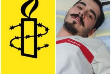 هشدار سازمان عفو بینالملل درباره ی وضعیت وخیم جسمانی حسین رونقی ملکی در زندان