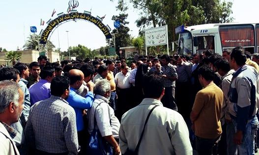 کارگران بافق دادگاهی شدند