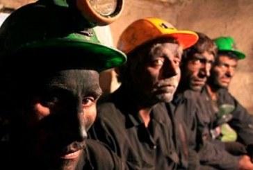 ۴۰۰تن از کارگران معدن طرزه دست به تجمع اعتراضی زدند