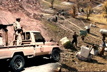 مجروح شدن دو کولبر در مناطق مرزی پیرانشهر به دنبال شلیک مستقیم نیروهای انتطامی