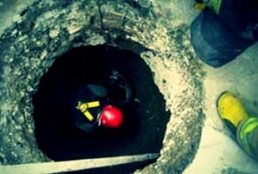 مرگ یک کارگر در چاه ۳۶ متری