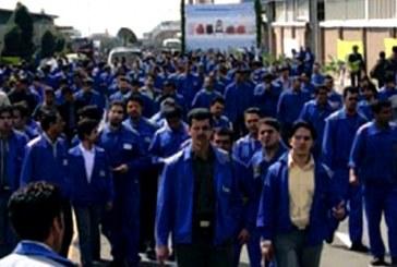 اعتراض تعداد زیادی از کارگران فاز ۱۳ عسلویه بخاطر معوقات مزدی