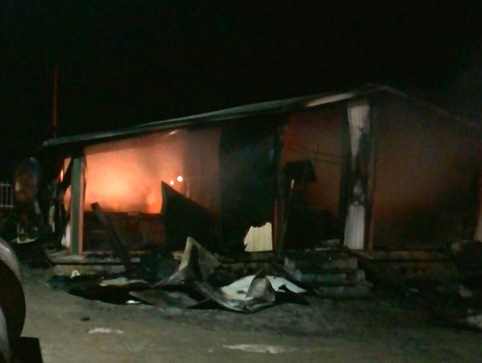 آتش سوزی مدرسه ی روستایی در کُردستان به دلیل اتصال برق