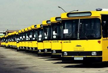 اعتصاب رانندگان اتوبوس در آبادان