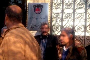 بازنشستگان زغال سنگ البرز شرقی تجمع کردند