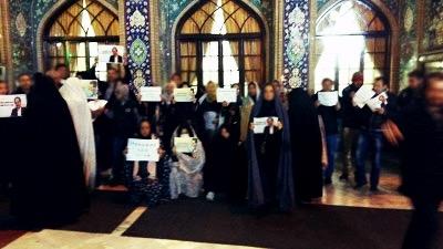 بازداشت هواداران محمد علی طاهرى در محل دفن آیت الله خمینی