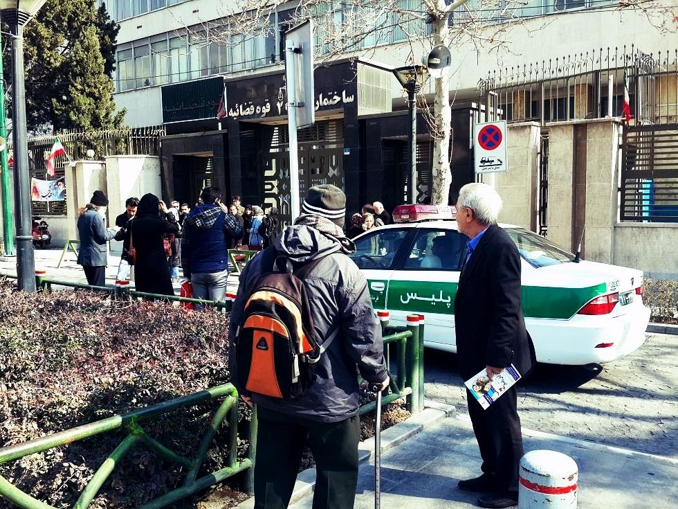 دادگاه تعدادی از فعالین مدنی امروز برگزار شد
