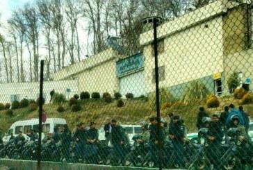 بازداشت هواداران محمد علی طاهرى مقابل زندان اوین (به روز رسانی شده)