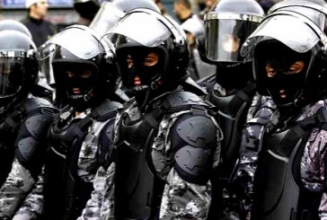 پلیس ضدشورش در بازار تهران