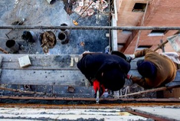کارگران ساختمانی نیشابور به نحوه تعامل تامین اجتماعی معترض شدند