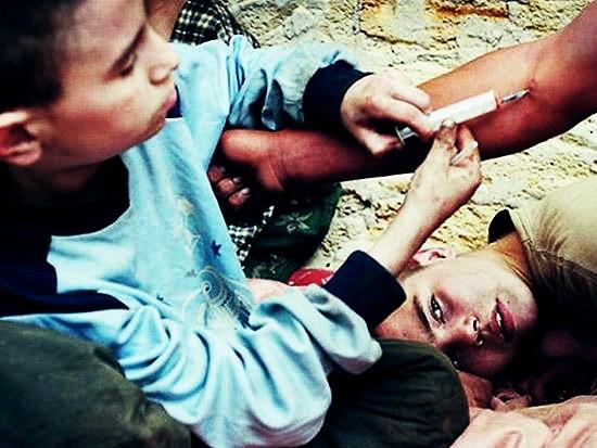 گزارش وضعیت کودکان معتاد در کشور