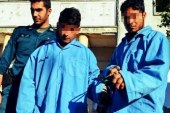 گرداندن ۲کودک در شهر به جرم شکستن شیشه فروشگاه