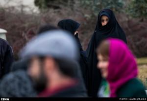گشت ارشاد در حاشیه جشنواره فیلم فجر