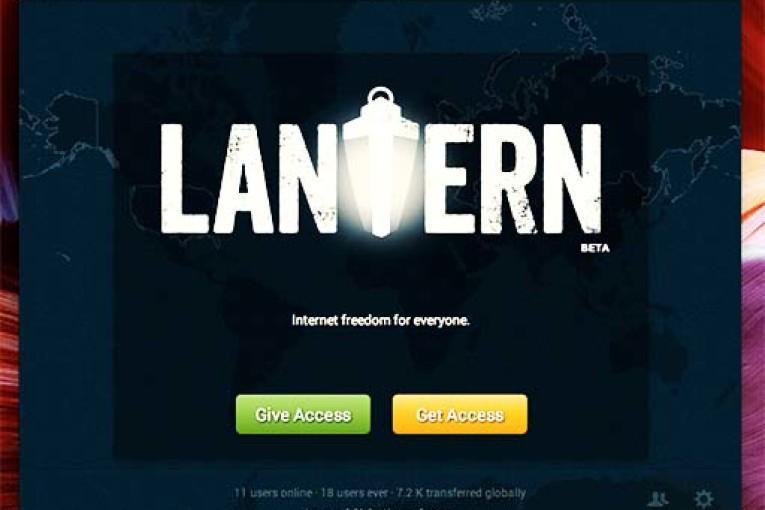 نرم افزار lantern برای اندروید